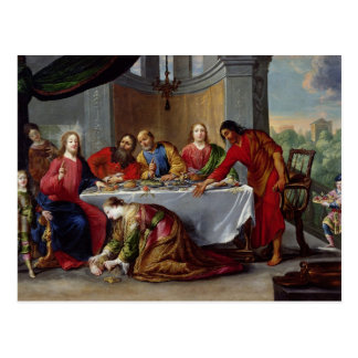 Christ in the House of Simon the Pharisee Postcard