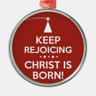 Christ is Born Ornament