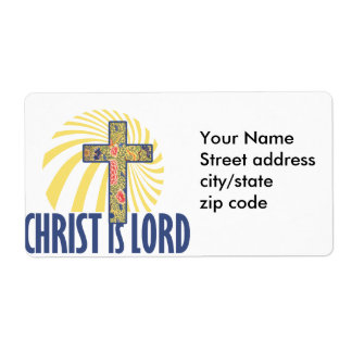 Christ is LORD Shipping Label
