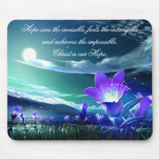 Christ is Our Hope mousepad