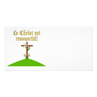 Christ is Risen Personalized Photo Card