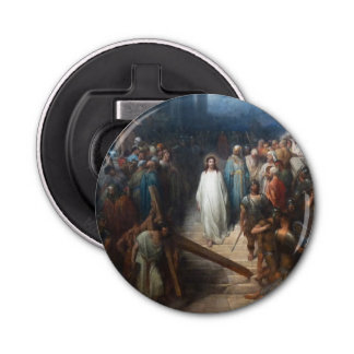 Christ Leaving Praetorium Bottle Opener