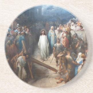 Christ Leaving Praetorium Coaster