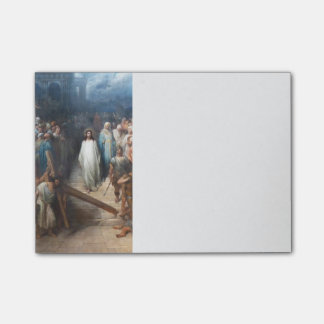 Christ Leaving Praetorium Post-it® Notes