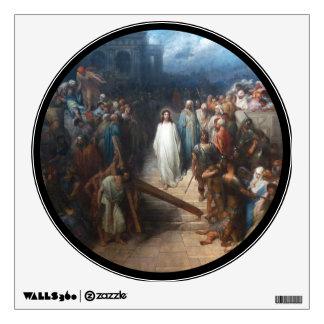 Christ Leaving Praetorium Wall Decal