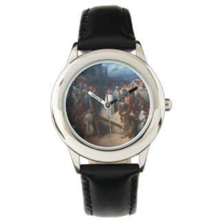 Christ Leaving Praetorium Wrist Watches