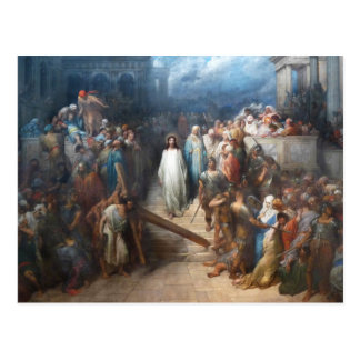 Christ Leaving the Praetorium Postcard