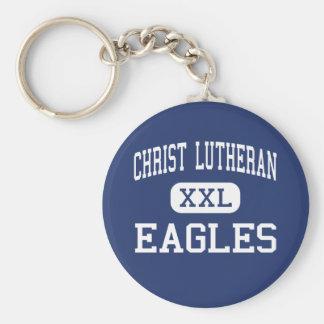 Christ Lutheran - Eagles - High - Davenport Iowa Keychain