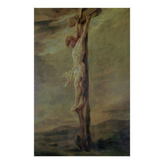 Christ on the Cross, c.1646 Poster