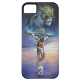 Christ on the Cross on iPhone 5/5S, Barely There Case For The iPhone 5