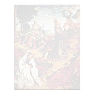 Christ On The Mount Of Olives By Meister Von St. S Custom Letterhead