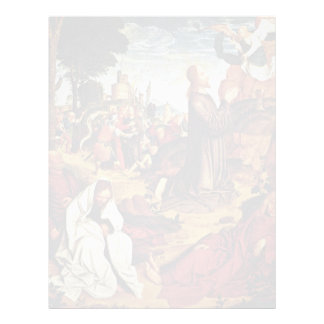 Christ On The Mount Of Olives By Meister Von St. S Custom Letterhead
