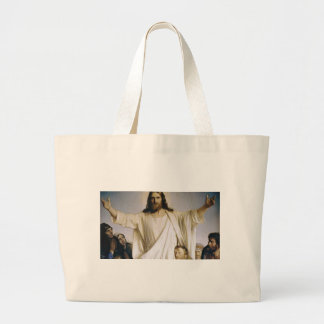 Christ Our Lord Large Tote Bag