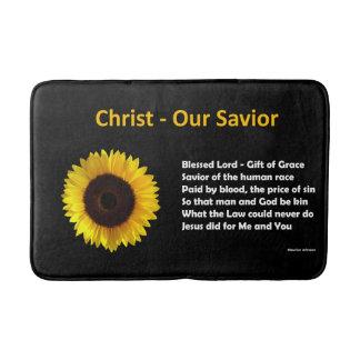 Christ - Our Savior - Medium Bath Mat