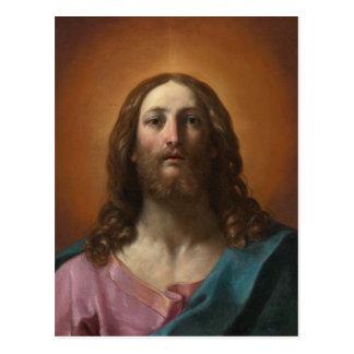 Christ Salvator mundi Guido Reni CC0988 Postcard