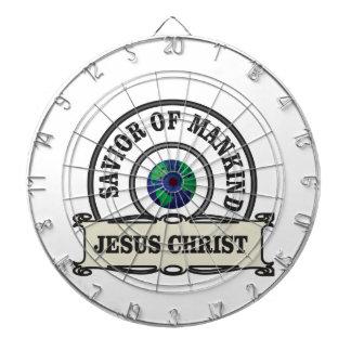 christ savior of all mankind dartboard