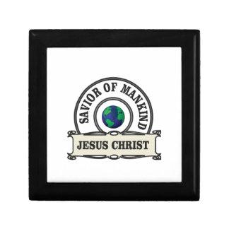 christ savior of all mankind gift box