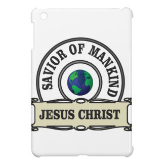 christ savior of all mankind iPad mini cover