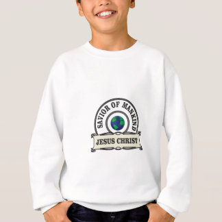 christ savior of all mankind sweatshirt