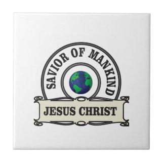 christ savior of all mankind tile
