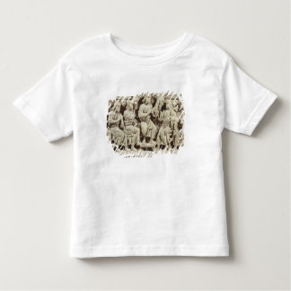 Christ seated and teaching surrounded by the Apost Toddler T-shirt