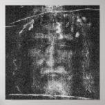 Christ - Shroud Of Turin Poster
