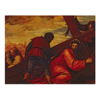 Christ Sinking under the Weight of the Cross Postcard