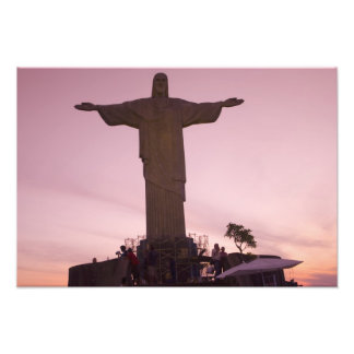 Christ Statue at Corcovado, near outskirts of Photographic Print