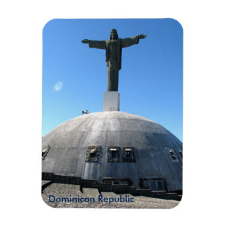 Christ statue magnet