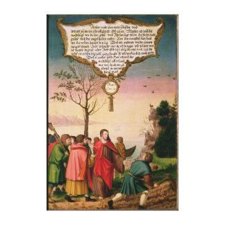 Christ teaching his disciples canvas print