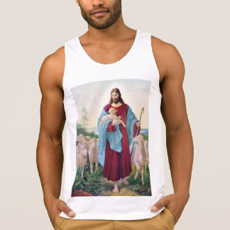 Christ The Good Shepherd Bernard Plockhorst 1878