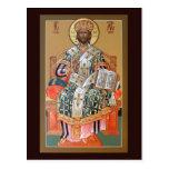 Christ the High Priest Prayer Card Postcard