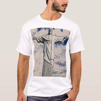 Christ the Redeemer Art T-Shirt