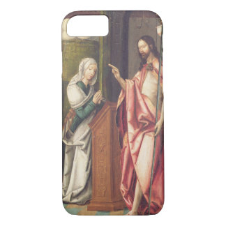 Christ the Redeemer blessing a woman (panel) iPhone 7 Case
