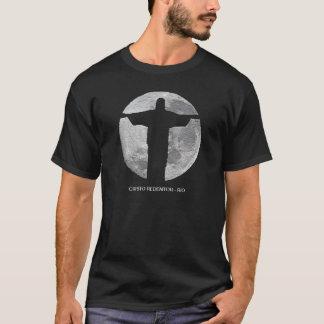 christ the redeemer moon - rj T-Shirt