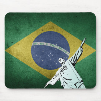 Christ the Redeemer Mouse Pad