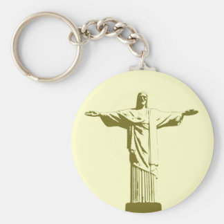 Christ the Redeemer . Rio de Janeiro Keychain