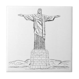 christ the redeemer tile