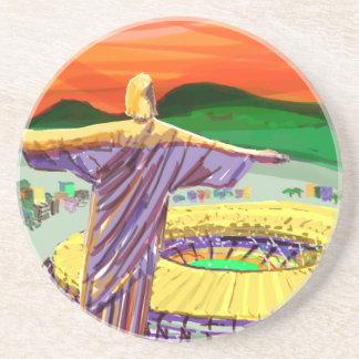 Christ The Redemer and Maracanã Stadium - Rio - Br Coaster
