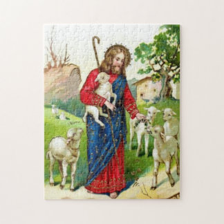 Christ The Shepherd Jigsaw Puzzle