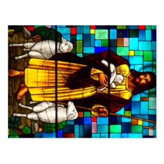 Christ the Shepherd Postcard