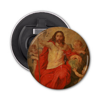 Christ Triumph Over Death and Sin Bottle Opener