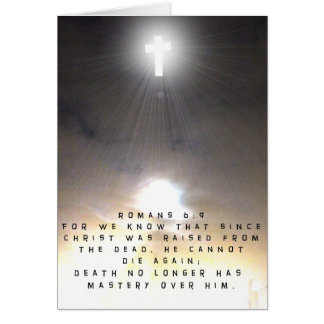 Christ Was Raised From the Dead Card