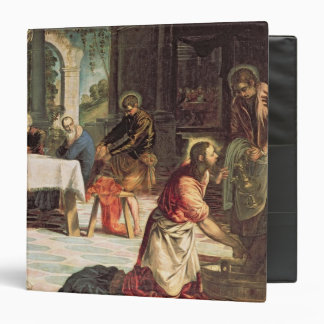 Christ Washing the Feet of the Disciples 2 3 Ring Binders