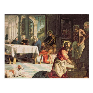 Christ Washing the Feet of the Disciples 2 Postcard