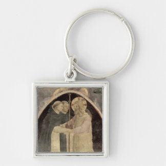 Christ Welcomes Two Dominican Friars, (fresco) (de Keychain
