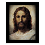 Christ with Compassionate Eyes Poster