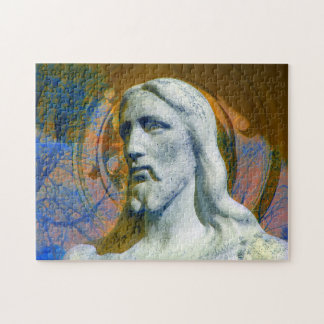 Christ With Halo ... calming challenge puzzle