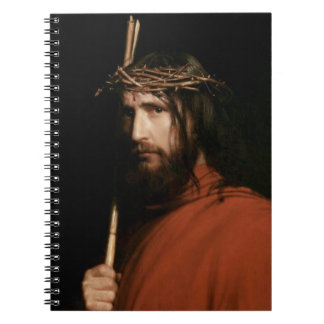 Christ with Thorns. Fine Art Gift Notebook