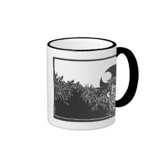 Christ Woodcut Coffee Mugs